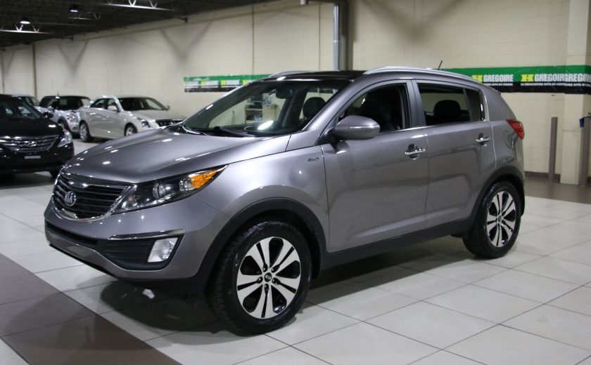 2013 Kia Sportage EX LUXE AWD CUIR TOIT PANO MAGS #2