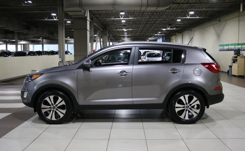 2013 Kia Sportage EX LUXE AWD CUIR TOIT PANO MAGS #3