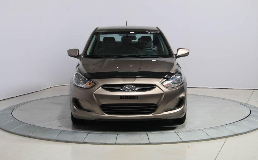 2013 Hyundai Accent L A/C #1