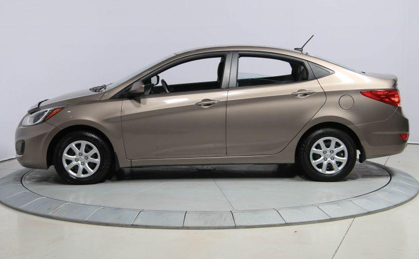 2013 Hyundai Accent L A/C #3
