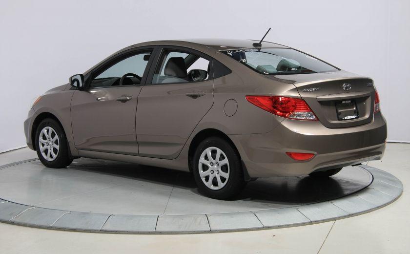 2013 Hyundai Accent L A/C #4