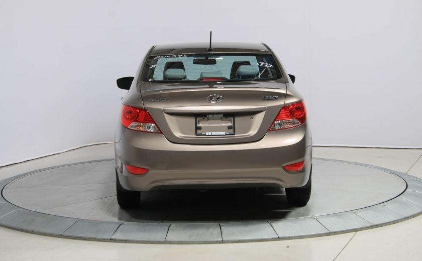 2013 Hyundai Accent L A/C #5