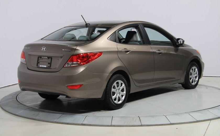 2013 Hyundai Accent L A/C #6