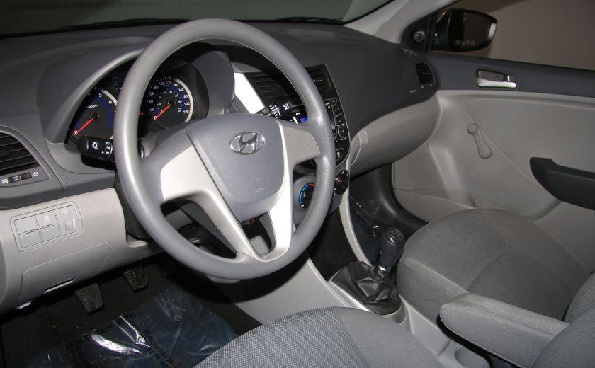 2013 Hyundai Accent L A/C #8