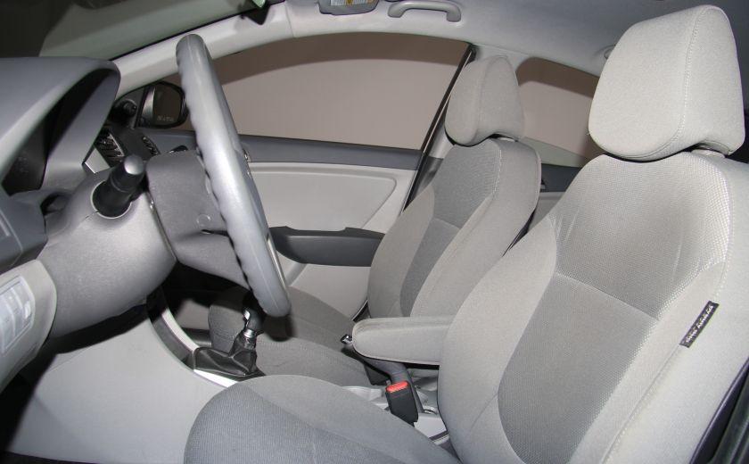 2013 Hyundai Accent L A/C #9