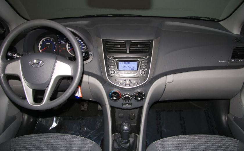2013 Hyundai Accent L A/C #10