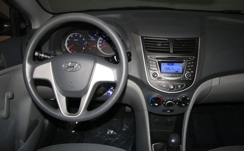 2013 Hyundai Accent L A/C #11
