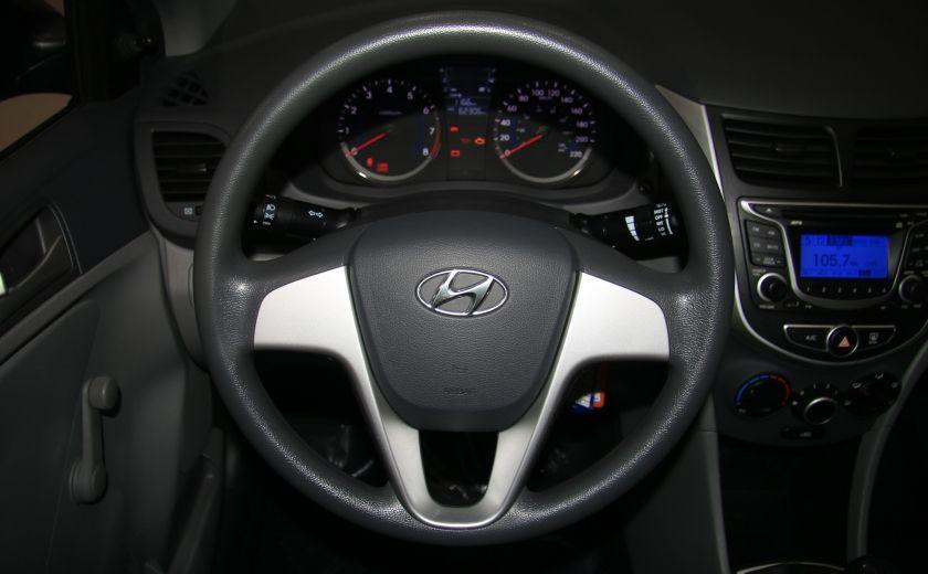 2013 Hyundai Accent L A/C #12