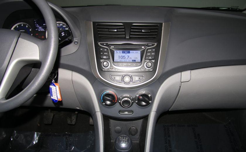 2013 Hyundai Accent L A/C #13