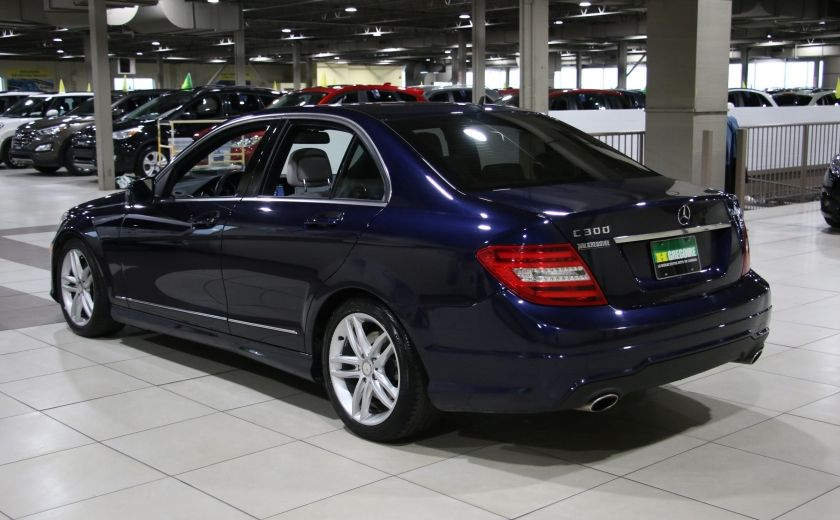 2013 Mercedes Benz C300 AWD AUTO A/C CUIR TOIT MAGS #4