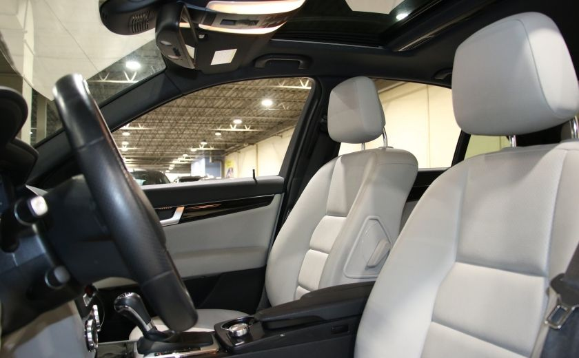 2013 Mercedes Benz C300 AWD AUTO A/C CUIR TOIT MAGS #9