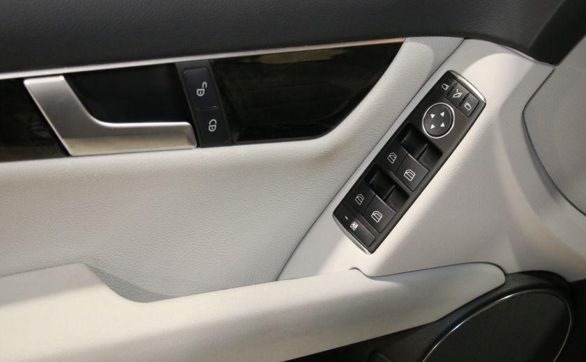 2013 Mercedes Benz C300 AWD AUTO A/C CUIR TOIT MAGS #10