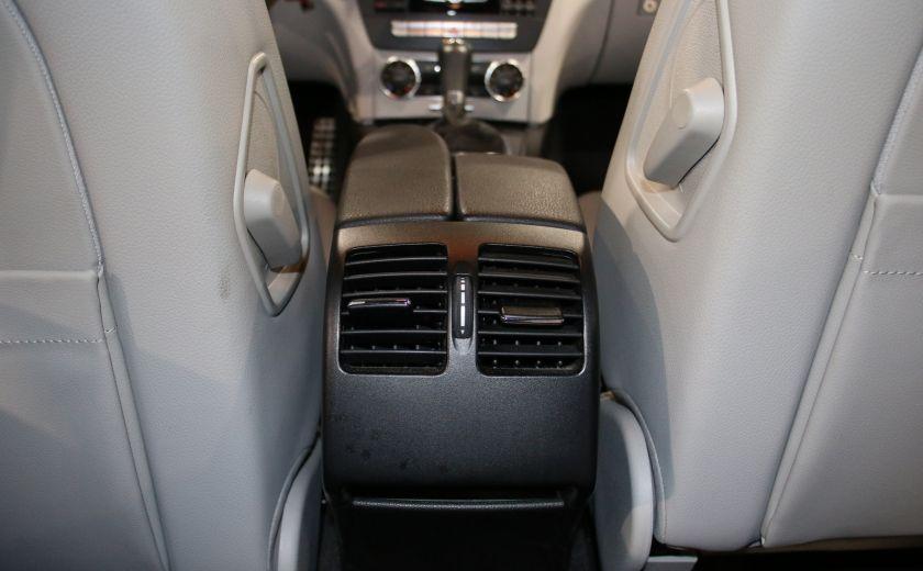 2013 Mercedes Benz C300 AWD AUTO A/C CUIR TOIT MAGS #17