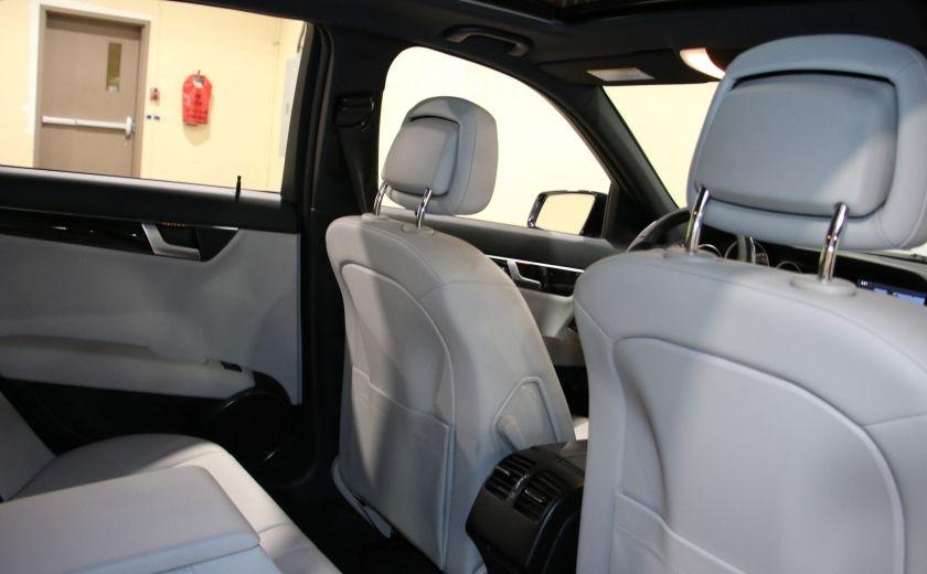 2013 Mercedes Benz C300 AWD AUTO A/C CUIR TOIT MAGS #21