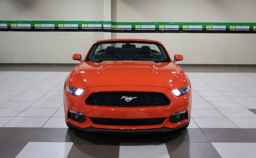2016 Ford Mustang V6 AUTO A/C CONVERTIBLE MAGS CAMERA RECUL #1