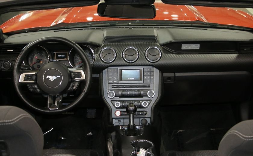 2016 Ford Mustang V6 AUTO A/C CONVERTIBLE MAGS CAMERA RECUL #17