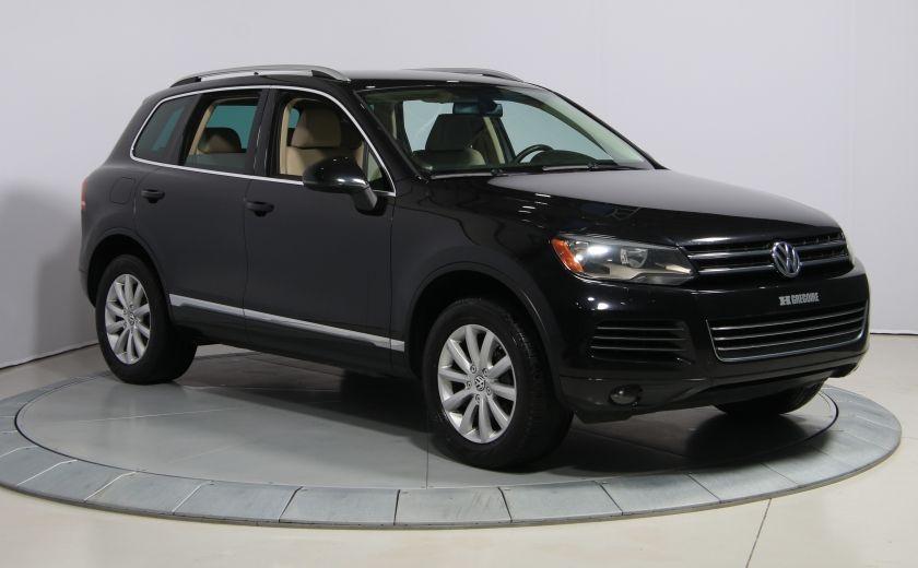 2012 Volkswagen Touareg Comfortline AWD CUIR NAVIGATION #0