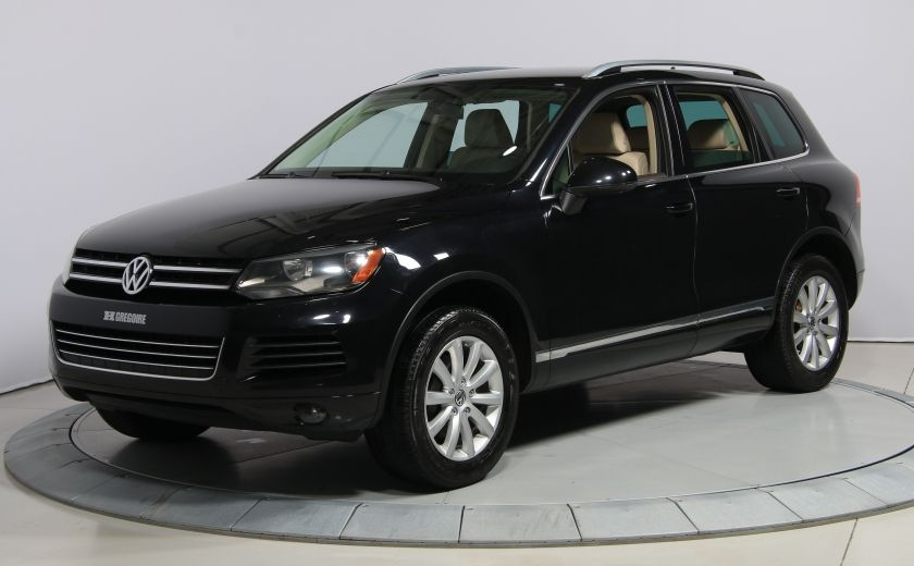 2012 Volkswagen Touareg Comfortline AWD CUIR NAVIGATION #2