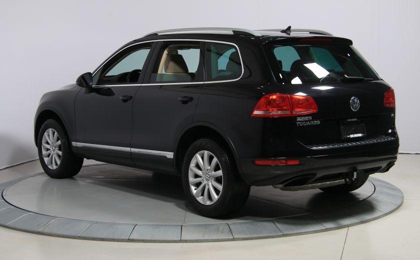 2012 Volkswagen Touareg Comfortline AWD CUIR NAVIGATION #4