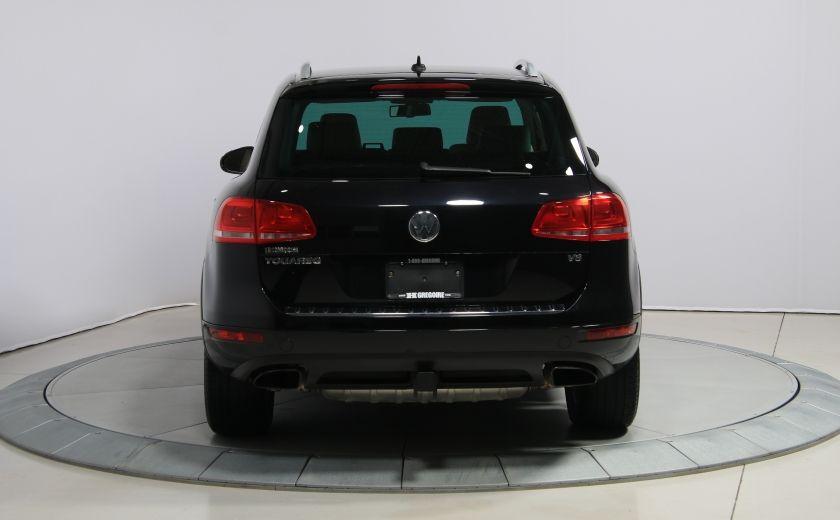 2012 Volkswagen Touareg Comfortline AWD CUIR NAVIGATION #5