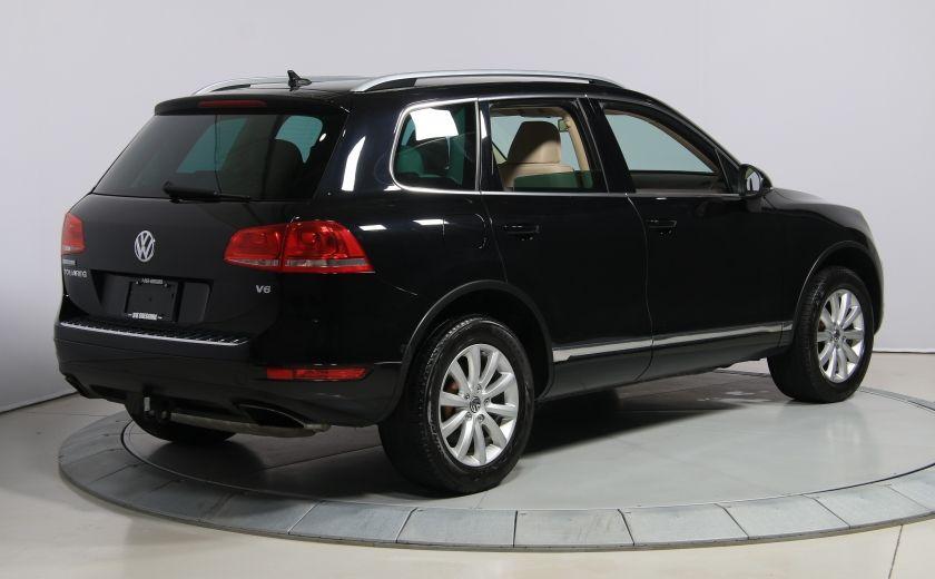2012 Volkswagen Touareg Comfortline AWD CUIR NAVIGATION #6