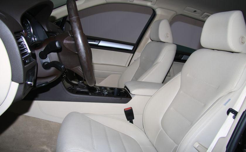 2012 Volkswagen Touareg Comfortline AWD CUIR NAVIGATION #9
