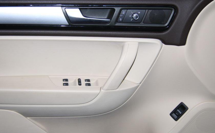 2012 Volkswagen Touareg Comfortline AWD CUIR NAVIGATION #10