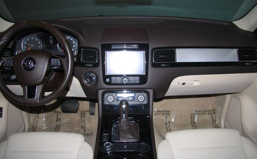 2012 Volkswagen Touareg Comfortline AWD CUIR NAVIGATION #12