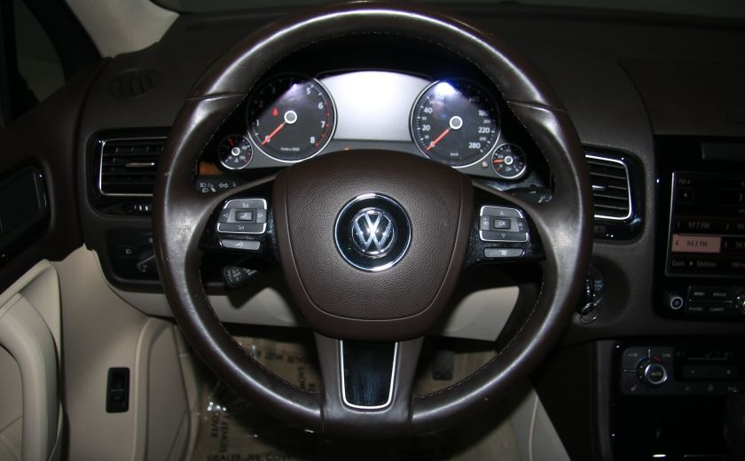 2012 Volkswagen Touareg Comfortline AWD CUIR NAVIGATION #14