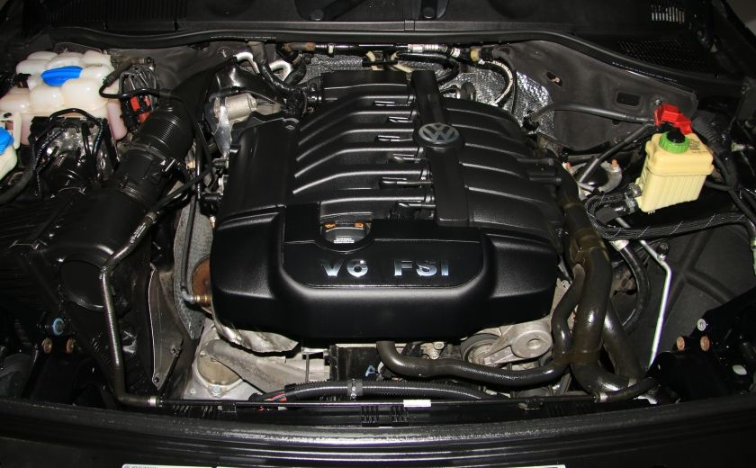 2012 Volkswagen Touareg Comfortline AWD CUIR NAVIGATION #27