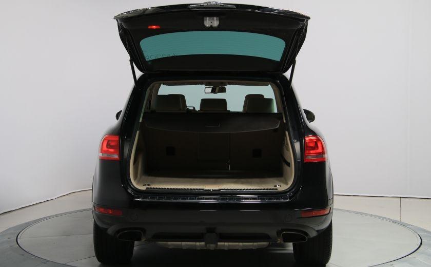 2012 Volkswagen Touareg Comfortline AWD CUIR NAVIGATION #29