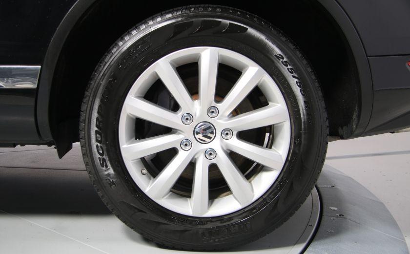 2012 Volkswagen Touareg Comfortline AWD CUIR NAVIGATION #33