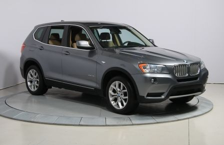 2014 BMW X3 AWD CUIR MAGS BLUETOOTH in Saint-Jérôme