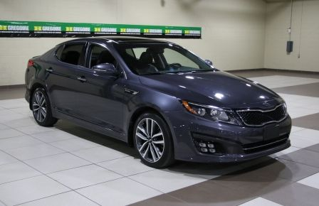2014 Kia Optima SX Turbo CUIR TOIT MAGS NAV BLUETOOTH in Montréal