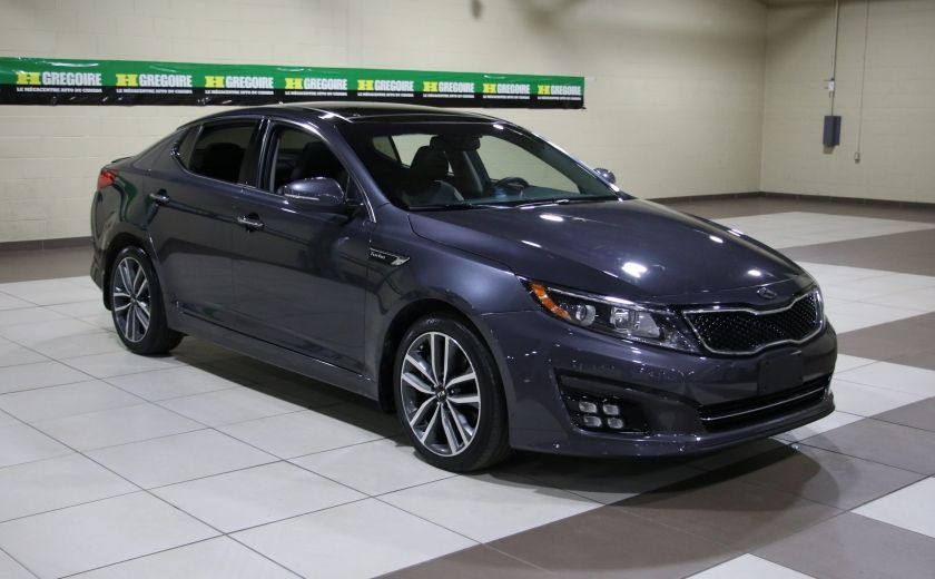 2014 Kia Optima SX Turbo CUIR TOIT MAGS NAV BLUETOOTH #0