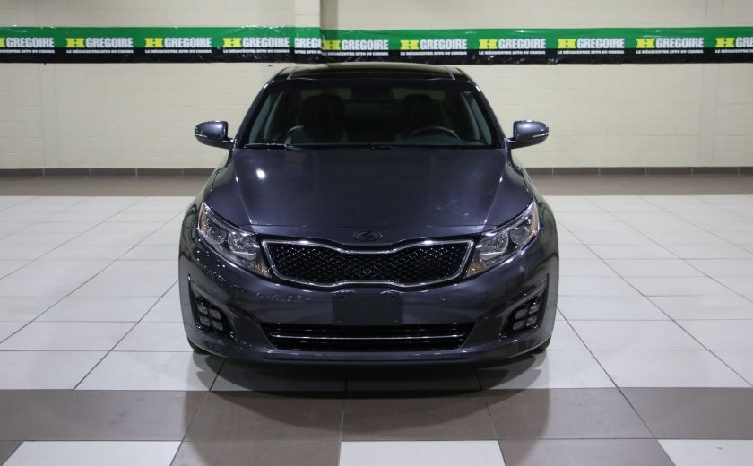 2014 Kia Optima SX Turbo CUIR TOIT MAGS NAV BLUETOOTH #1