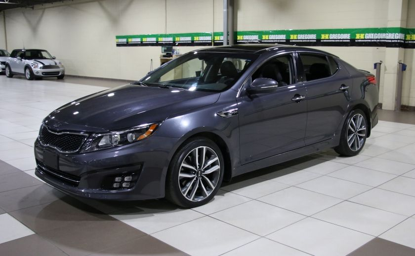 2014 Kia Optima SX Turbo CUIR TOIT MAGS NAV BLUETOOTH #2