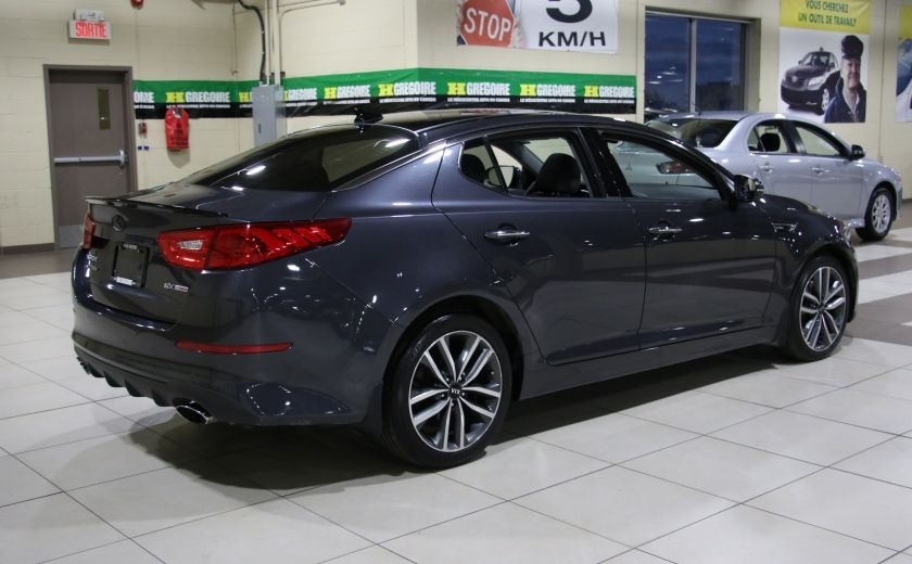 2014 Kia Optima SX Turbo CUIR TOIT MAGS NAV BLUETOOTH #6