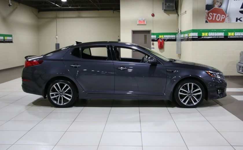 2014 Kia Optima SX Turbo CUIR TOIT MAGS NAV BLUETOOTH #7