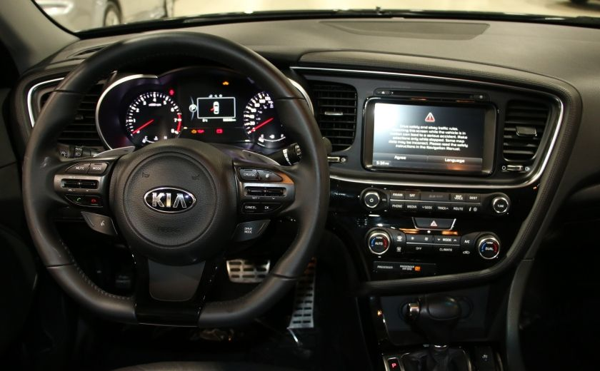 2014 Kia Optima SX Turbo CUIR TOIT MAGS NAV BLUETOOTH #13
