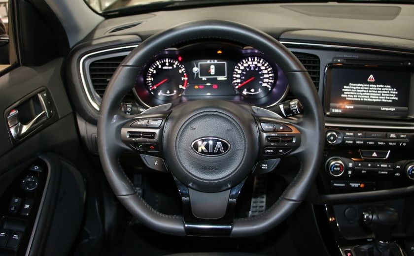 2014 Kia Optima SX Turbo CUIR TOIT MAGS NAV BLUETOOTH #14
