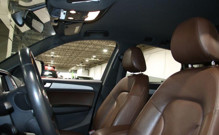 2013 Audi Q5 2.0L QUATTRO AUTO CUIR MAGS #9