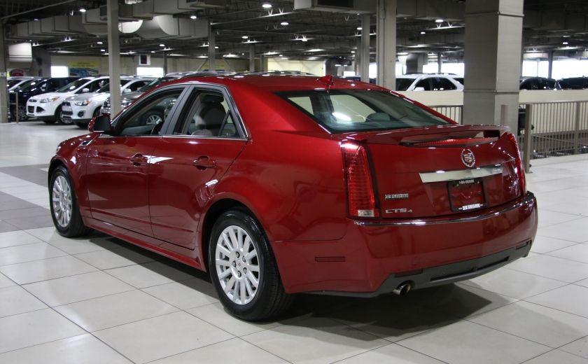 2012 Cadillac CTS AWD CUIR BAS KILOMETRAGE #4