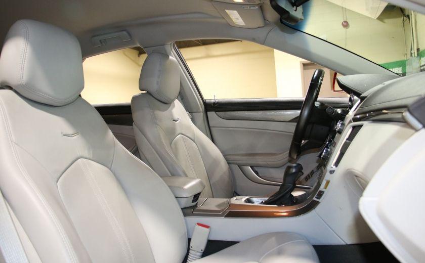 2012 Cadillac CTS AWD CUIR BAS KILOMETRAGE #26