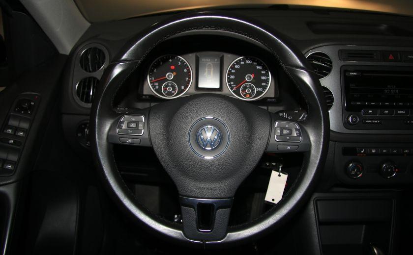 2013 Volkswagen Tiguan Trendline 4MOTION AUTO A/C GR ELECT MAGS BLUETOOTH #12
