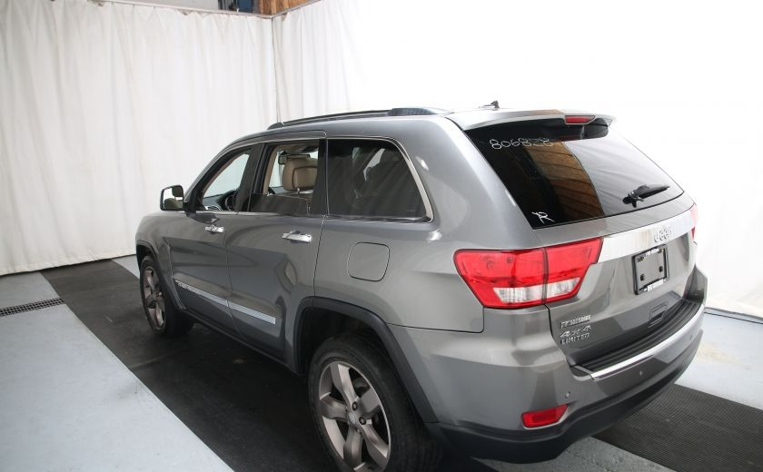 2012 Jeep Grand Cherokee Limited CUIR TOIT PANORAMIQUE NAV #3