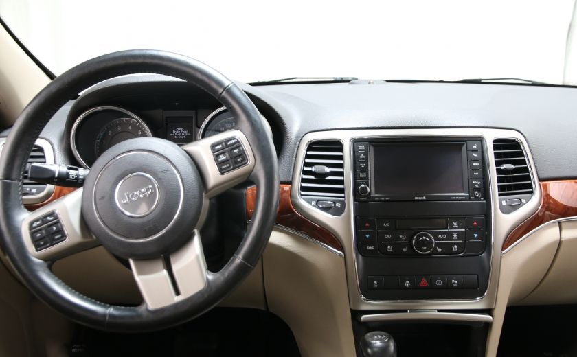 2012 Jeep Grand Cherokee Limited CUIR TOIT PANORAMIQUE NAV #12