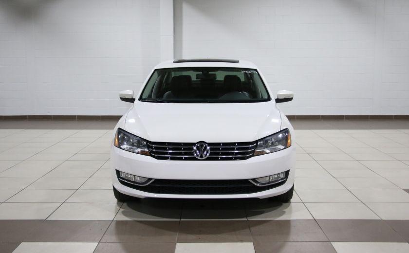 2012 Volkswagen Passat 2.5L Auto Highline AUTO A/C CUIR TOIT MAGS #1