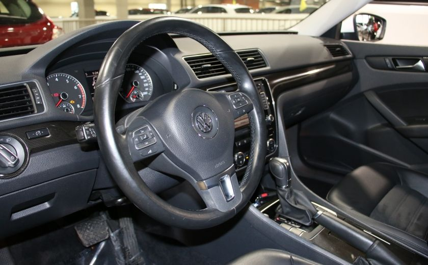 2012 Volkswagen Passat 2.5L Auto Highline AUTO A/C CUIR TOIT MAGS #8