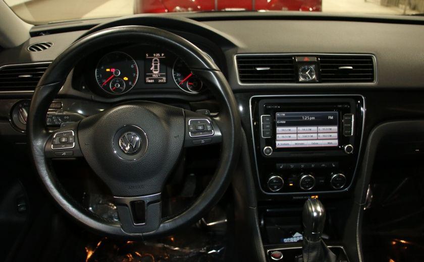 2012 Volkswagen Passat 2.5L Auto Highline AUTO A/C CUIR TOIT MAGS #14